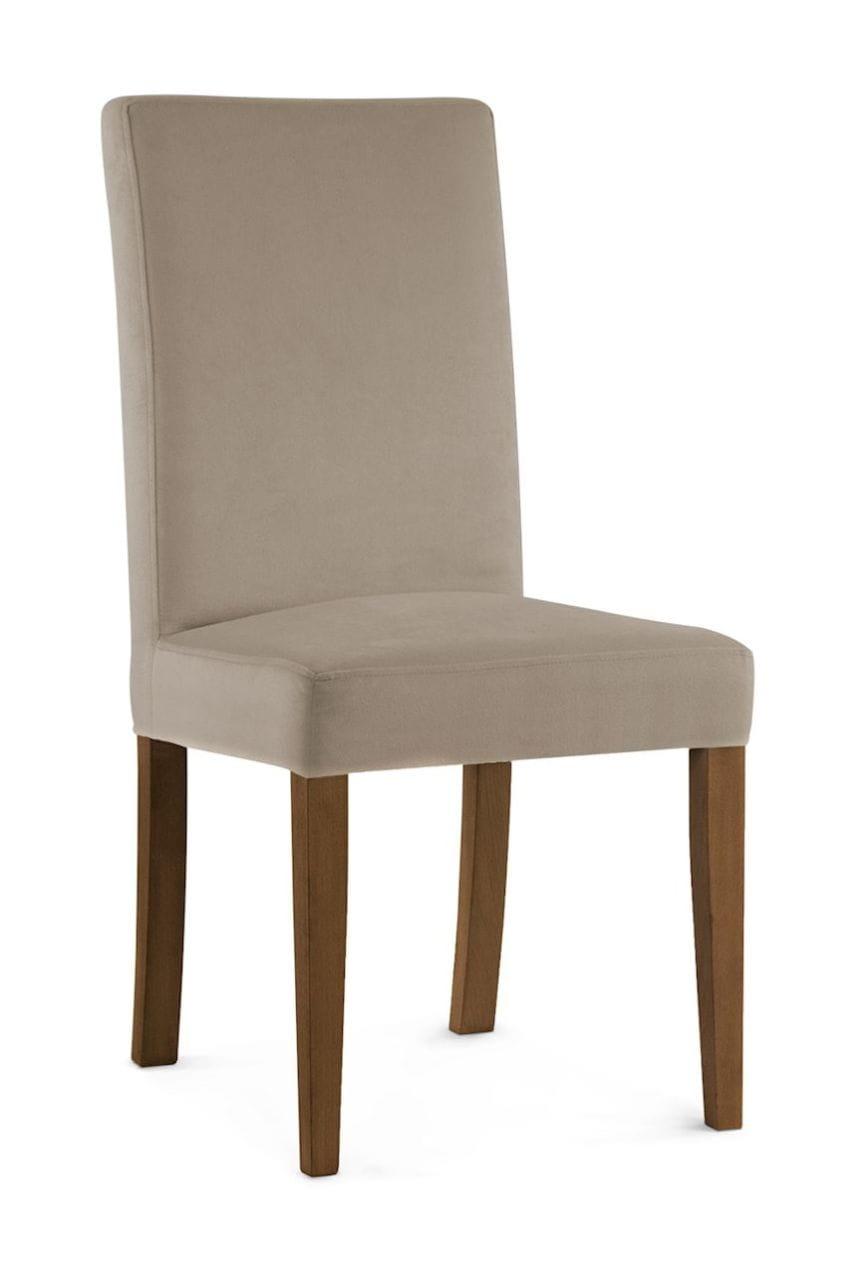 Krzesło tapicerowane WILLFORD beżowe
